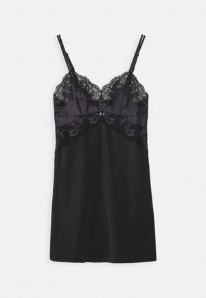 AFFAIR CHEMISE - Nightie - black/graphite