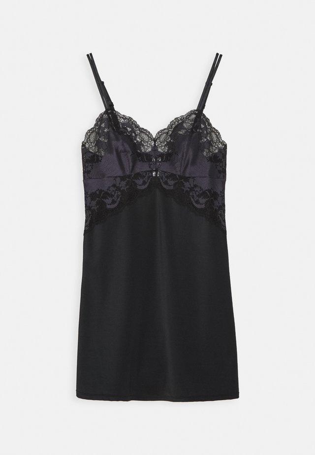 AFFAIR CHEMISE - Camicia da notte - black/graphite