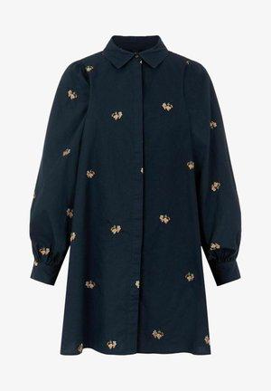 YASLOMANA - Button-down blouse - sky captain