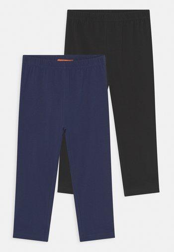 CAPRI TEEN 2 PACK - Leggings - Trousers - black/marine