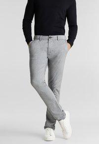 Esprit - Chinos - light grey - 3