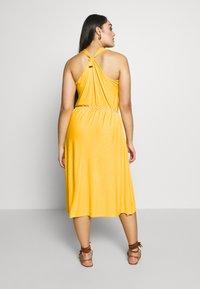 Ragwear Plus - MILIE PLUS - Žerzejové šaty - yellow - 2