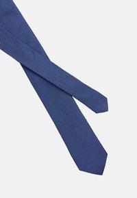 Calvin Klein - DOTTED SQUARE TIE - Cravatta - blue - 3