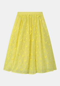 Charabia - Maxi skirt - straw yellow - 1