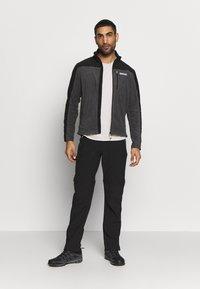 Regatta - FELLARD - Fleece jacket - magnet/black - 1