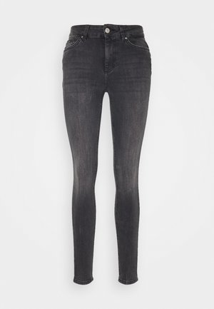 PCDELLY NOOS  - Jeans Skinny Fit - dark grey denim