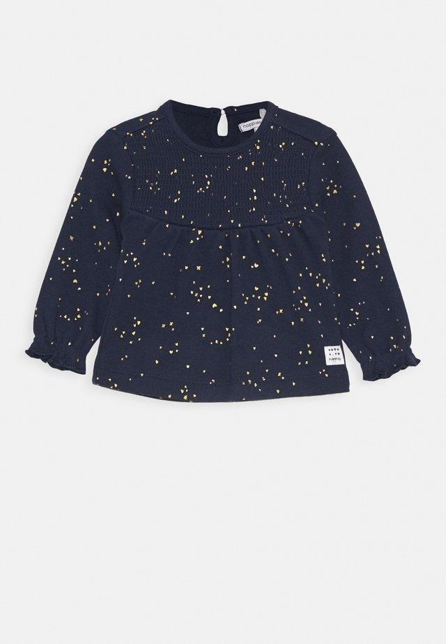 REGULAR COLESBERG - T-shirt à manches longues - black iris