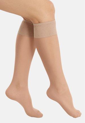 Knee high socks - light pink