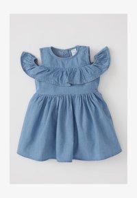 DeFacto - Denim dress - blue - 0