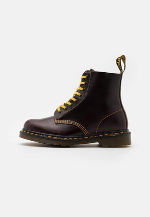 1460 PASCAL UNISEX - Lace-up ankle boots - oxblood