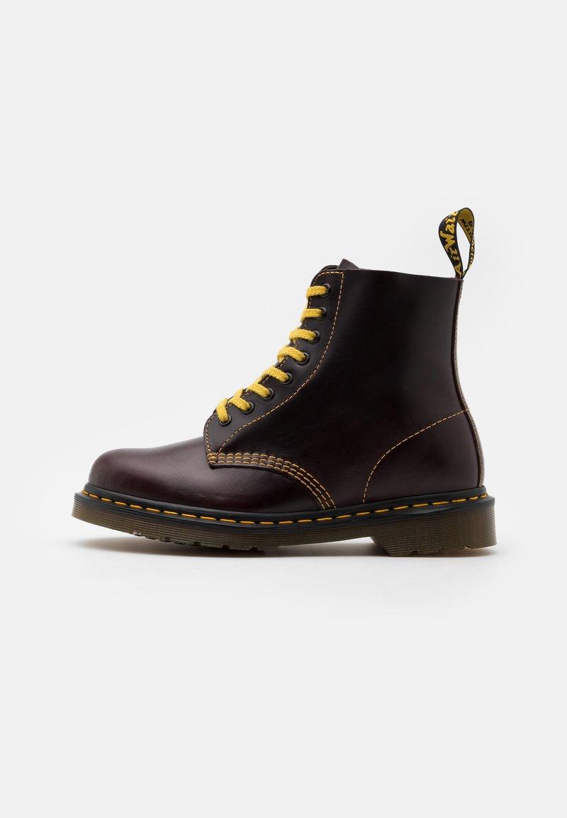Dr. Martens - 1460 PASCAL UNISEX - Lace-up ankle boots - oxblood