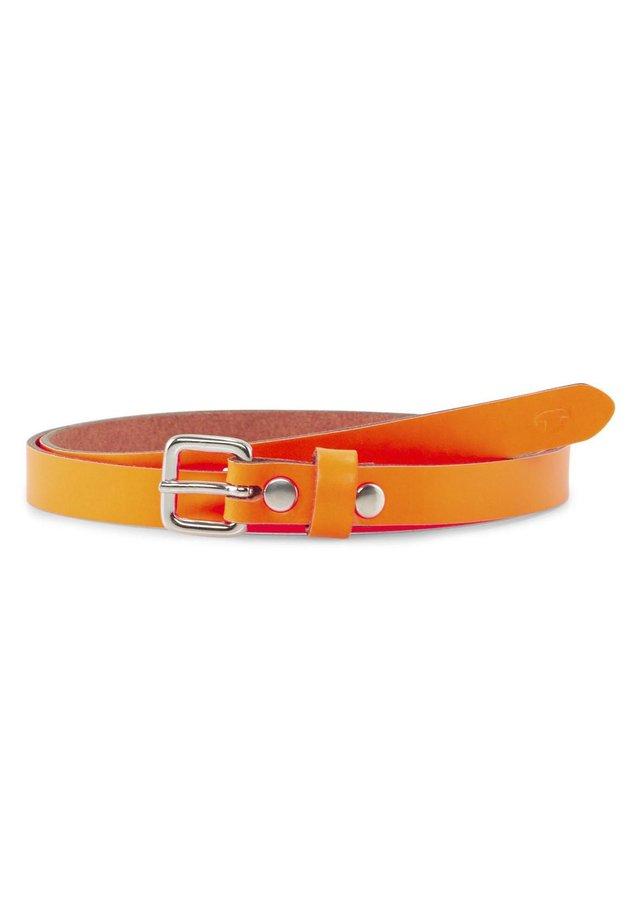 SCHMALER - Belt - orange