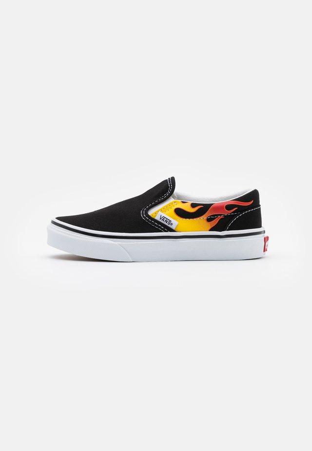 CLASSIC - Loafers - black/true white