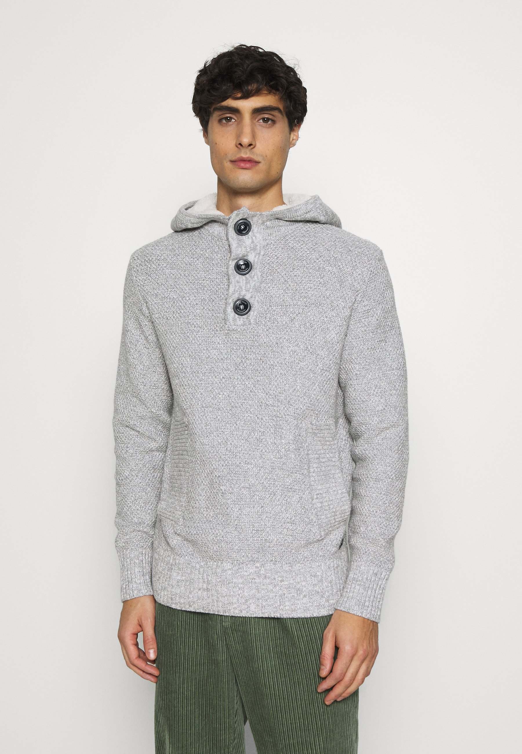 Homme STRUCTURED HOODY - Sweat à capuche