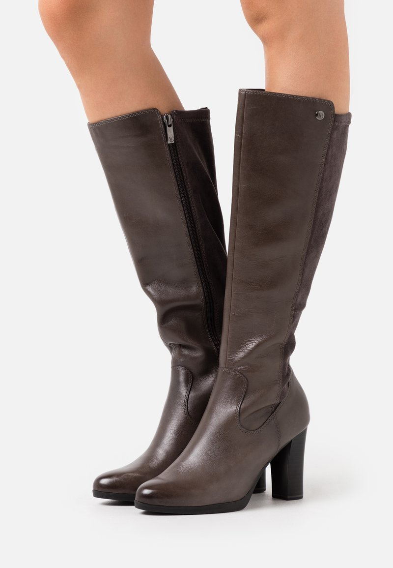Caprice - BOOTS - High heeled boots - dark grey