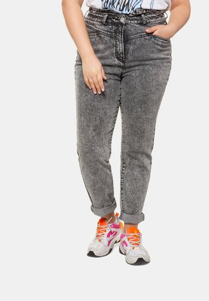 Straight leg jeans - hellgrau denim