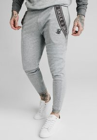 SIKSILK - TECH TRACK PANTS - Tracksuit bottoms - grey - 0