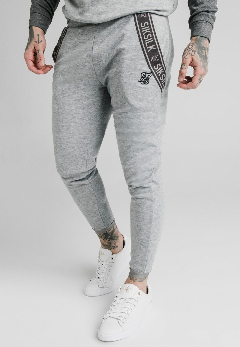 SIKSILK - TECH TRACK PANTS - Pantalones deportivos - grey