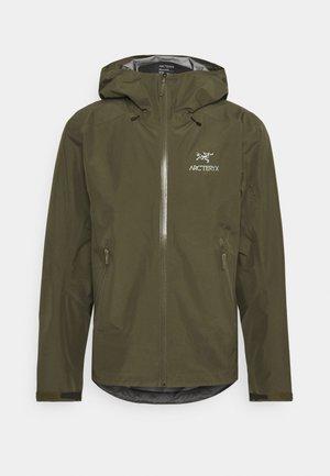 BETA JACKET MENS - Hardshell jacket - dark green