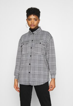 ONLZIGA SHACKET - Short coat - black/cloud dancer
