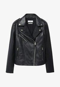 PERFECT - Leather jacket - noir