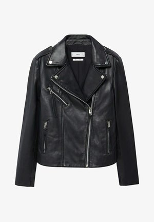 PERFECT - Leather jacket - noir