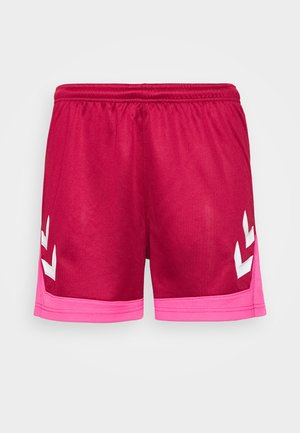 HMLLEAD WOMENS SHORTS - Sports shorts - biking red