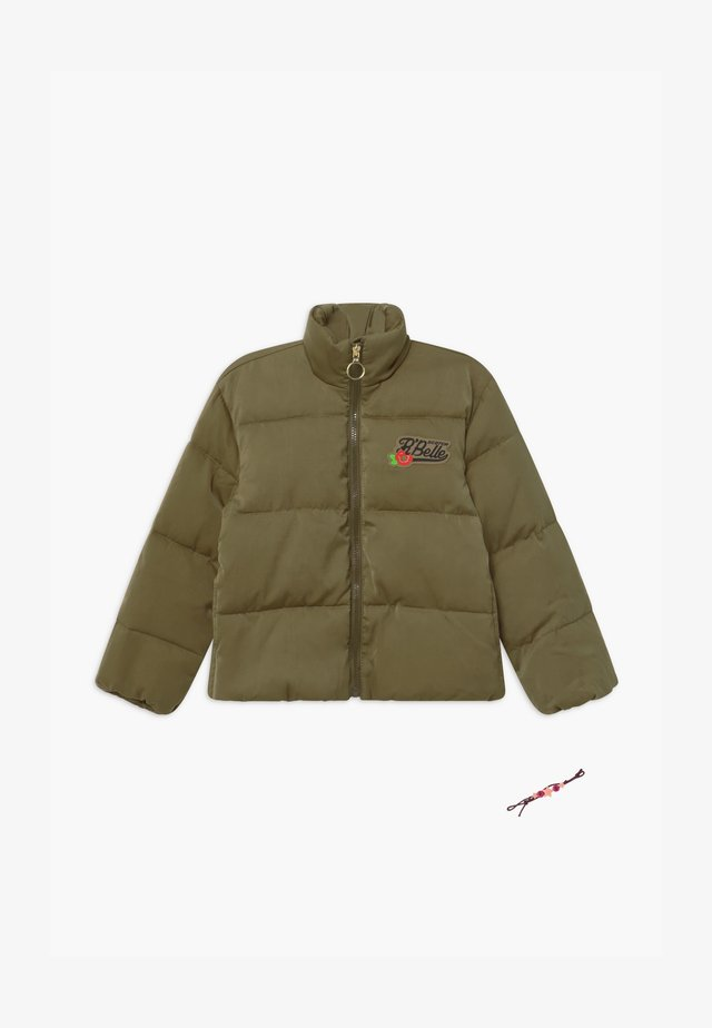 SHORT LENGTH LIGHTWEIGHT QUILTED - Veste d'hiver - military