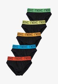 Next - FIVE PACK - Briefs - black - 0