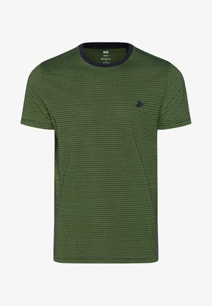 MET STRUCTUUR - Print T-shirt - bright green