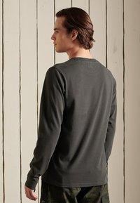 Superdry - Long sleeved top - vintage black - 1