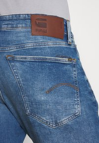 G-Star - 3301 STRAIGHT TAPERED - Straight leg jeans - authentic faded blue - 3
