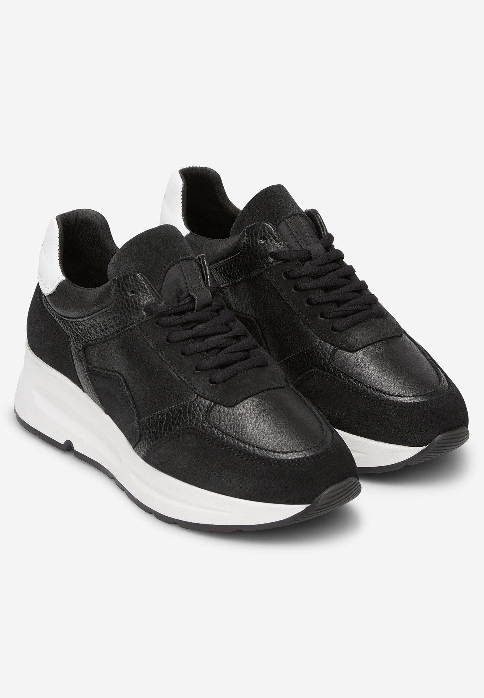 Kup najnowsze Zniżka Marc O'Polo AUS HOCHWERTIGEM MATERIAL-MIX - Sneakersy niskie - black combi | Obuwie damskie 2020 BCSMy
