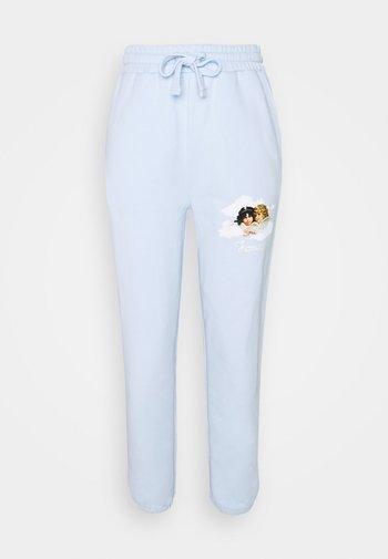 CLOUD ANGELS JOGGER - Teplákové kalhoty - blue