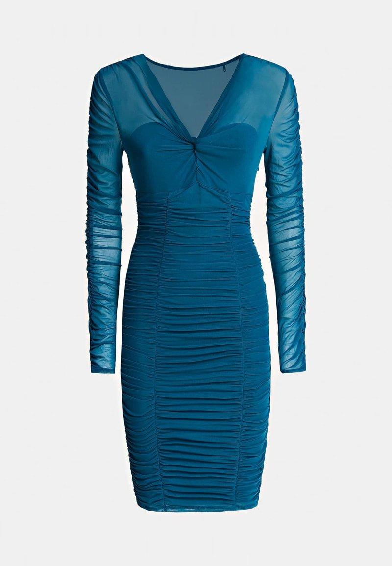 guess adrianna dress - etuikleid - dunkelblau - zalando.de