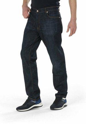 PANTALONE DENIM 5 TASCHE 'ONE GLASS ONE JEANS' - Straight leg jeans - blu scuro