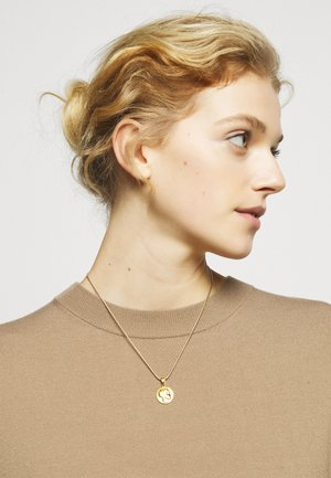 ATHÉNA SNAKE CHAIN PENDANT - Necklace - gold-coloured