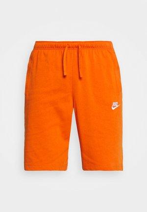 CLUB - Shorts - campfire orange/white