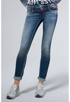 Jeans Skinny Fit - dark blue vintage