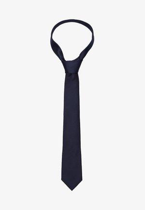 SLHNEW TEXTURE TIE - Krawat - dark sapphire