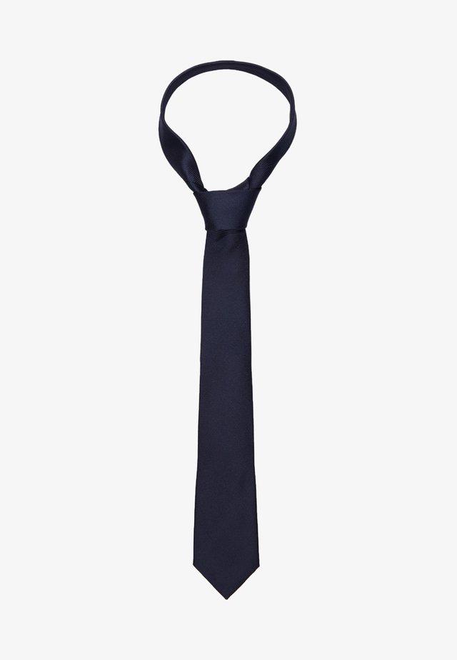 SLHNEW TEXTURE TIE - Slips - dark sapphire