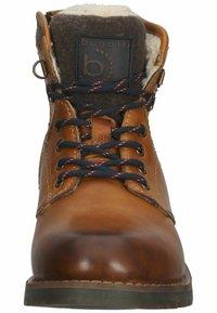 Bugatti - Winter boots - cognac - 5