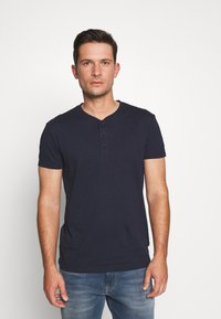 Pier One - T-shirt - bas - dark blue - 0