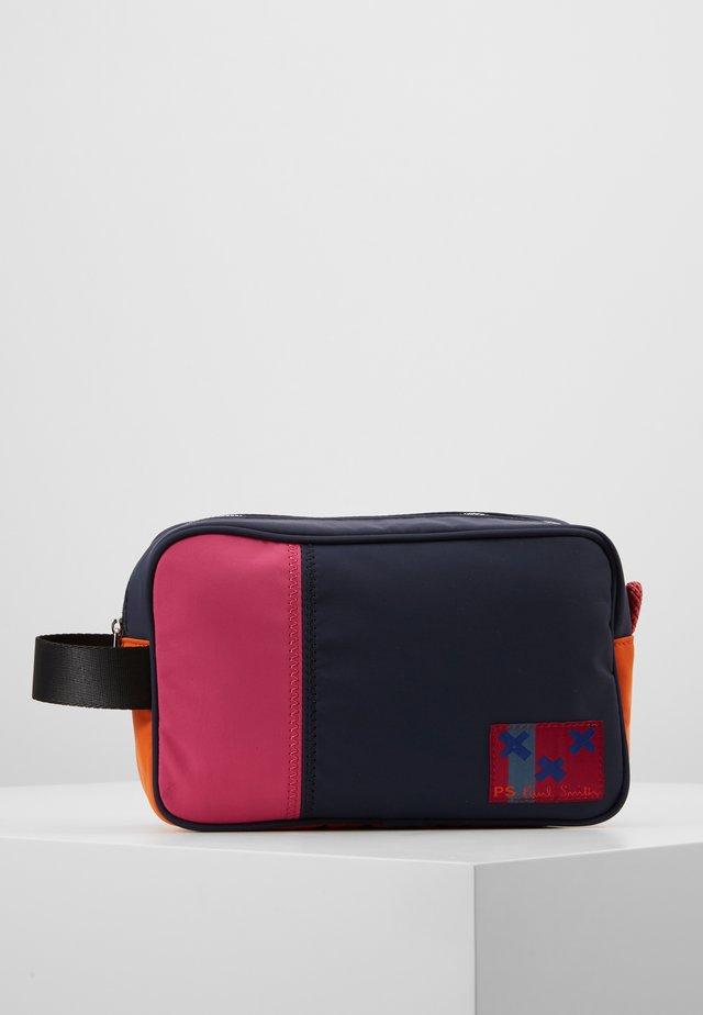 BAG WASH - Toiletti-/meikkilaukku - navy