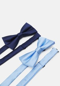 Pier One - 2 PACK - Bow tie - dark blue/light blue - 1