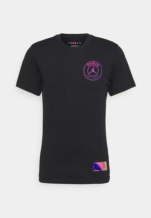 JORDAN PARIS ST GERMAIN LOGO TEE - Club wear - black