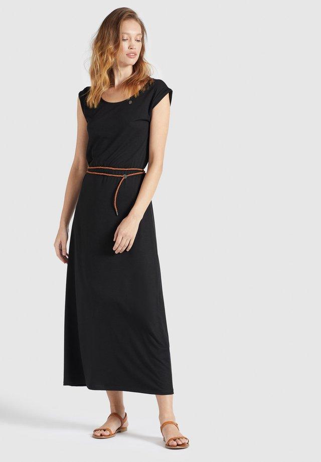 SUNIRI - Vestito di maglina - schwarz