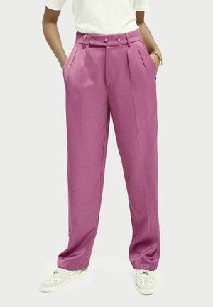 Pantalon classique - orchid