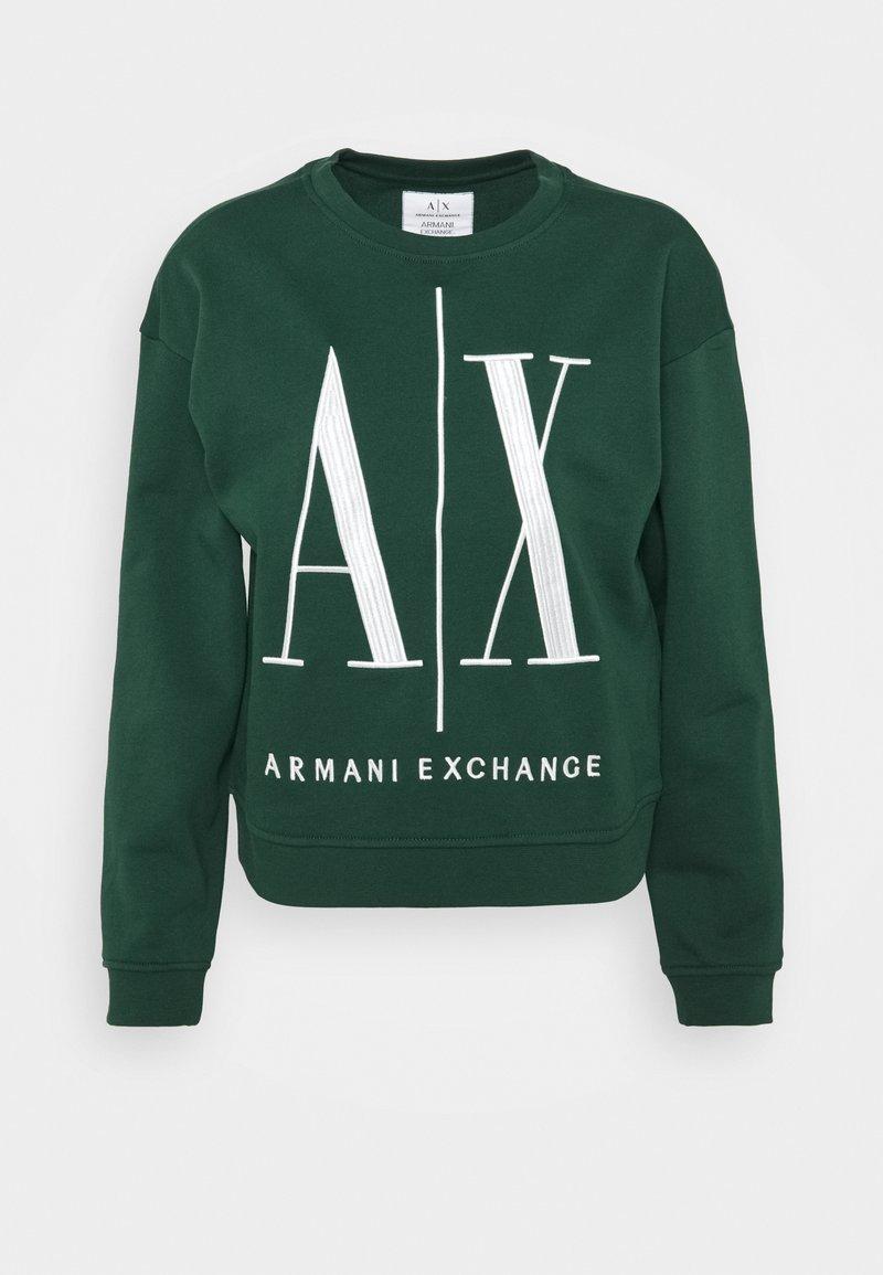 Armani Exchange - FELPA - Sudadera - sea moss
