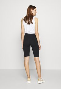 esmé studios - PAM SHORT LEGGINGS - Shorts - black - 2
